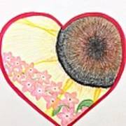 Birthday Heartgarden 20140727 Art Print