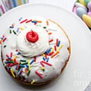 Birthday Party Donut Art Print