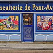 Biscuiterie In Pont Avon Art Print