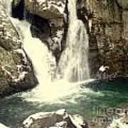 Bish Bash Falls  Art Print