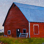 Bishop Barn Art Print