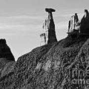 Bisti Land Form 1 Art Print