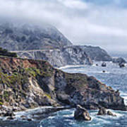 Bixby Bridge - Large Print Print by Anthony Citro