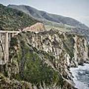 Bixby Bridge Vista Art Print