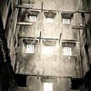 Black And White Bodmin Jail Art Print