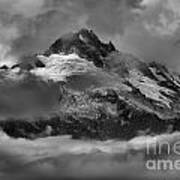 Black And White Tantalus Storms Art Print