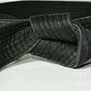 Black Belt Art Print