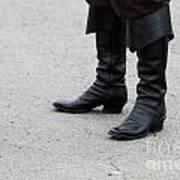 Black Boots Art Print