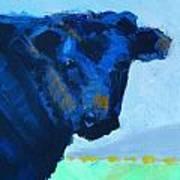 Black Calf Art Print