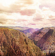 Black Canyon Colorado Art Print