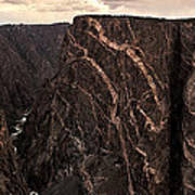 Black Canyon National Park In Colorado Art Print