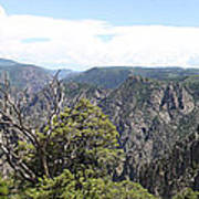 Black Canyon Of The Gunnison Panorama Art Print