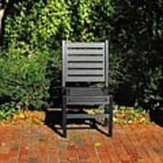 Black Chair Trio Art Print