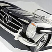 Mercedes 300 Sl Art Print