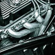 Black Cobra - Ford Cobra Engines Art Print