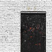 Black Door Art Print