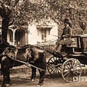 Black Family In Buggy Art Print by Paul W Faust -  Impressions of Light