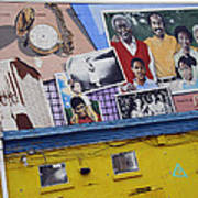 Black Family Reunion Mural Art Print