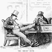 Black Friday Cartoon, 1873 Art Print