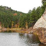 Black Hills Lake Art Print