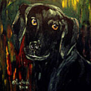 Black Lab IIi Art Print