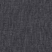 Black Linen Texture Art Print