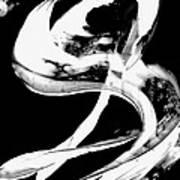 Black Magic 307 Inverted Art Print