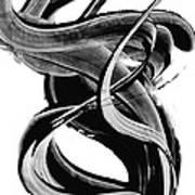 Black Magic 314 By Sharon Cummings Art Print