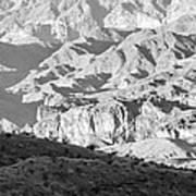 Black Mountains Of Arizona Art Print