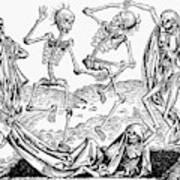 Black Plague, 1493 Art Print