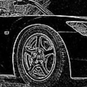 Black S2000 Art Print