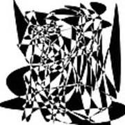 Black Stroke Art Print