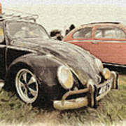 Black Vw Art Print