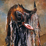 Blackfoot Medicine Man Art Print