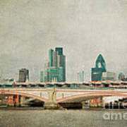 Blackfriars Bridge Art Print