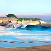 Blacks Beach - Santa Cruz Art Print