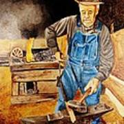 Blacksmith Art Print