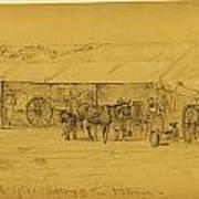 Blacksmiths Department Hd. Qts Art Print