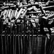 Blacksmith's Tools Art Print