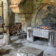 Blacksmiths Workshop Art Print