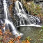 Blackwater Falls-2a Blackwater Falls State Park Wv Autumn Mid-morning Art Print