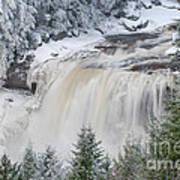 Blackwater Falls D300_13581 Art Print