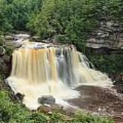 Blackwater River Falls West Virginia Art Print