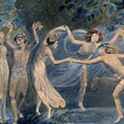 Blake: Fairies, C1786 Art Print