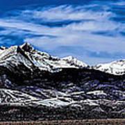 Blanca Mountains Near Fort Garland Colorado Art Print