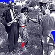 Blanche Barrow Captured July 24 1933 Dexfield Park Missouri  Art Print