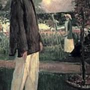 Blanche, Jaques 1861-1942. Jean Cocteau Art Print