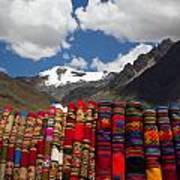 Blankets-andes Art Print