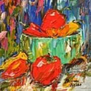 Blast Of Color Art Print by Barbara Pirkle