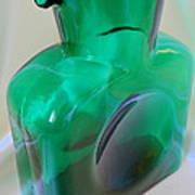Blenko Green Art Print